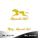 "amateurdesignsummitさんの競走馬生産・育成牧場 ""宮内牧場""のロゴへの提案"