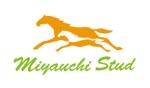 "atari777さんの競走馬生産・育成牧場 ""宮内牧場""のロゴへの提案"