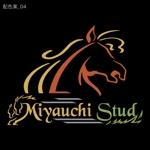 """umenosukeさんの競走馬生産・育成牧場 """"宮内牧場""""のロゴへの提案"""