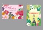 jun333さんのポストカードのデザイン(四季4種+他2種)への提案