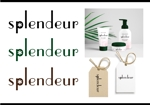 ah_designさんの生活雑貨ブランド「スプランドゥール」のロゴへの提案