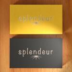 YTOKUさんの生活雑貨ブランド「スプランドゥール」のロゴへの提案