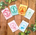 Usimaru7さんのポストカードのデザイン(四季4種+他2種)への提案