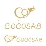 Ochanさんの「手作り ウェディング ペーパーアイテム ココサブ」のロゴ作成(商標登録無し)への提案
