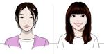 企業HPの社員の似顔絵への提案