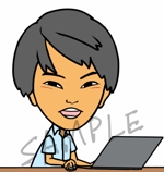 boushibbさんの4,300名が見る!YouTube「おさとエクセル」のイラストを募集します!(やさしい印象を与える笑顔)への提案