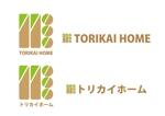 yamaguchi0119さんの佐賀県三養基郡基山町の住宅会社「トリカイホーム」のロゴ作成への提案