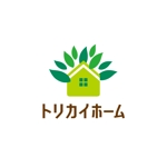 pekoodoさんの佐賀県三養基郡基山町の住宅会社「トリカイホーム」のロゴ作成への提案