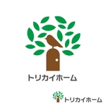 hirokipsさんの佐賀県三養基郡基山町の住宅会社「トリカイホーム」のロゴ作成への提案