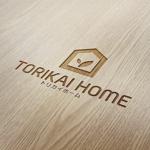 chapterzenさんの佐賀県三養基郡基山町の住宅会社「トリカイホーム」のロゴ作成への提案