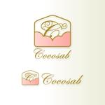 sa_akutsuさんの「手作り ウェディング ペーパーアイテム ココサブ」のロゴ作成(商標登録無し)への提案