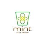 tom-hoさんの新規OPENのダイニングバー「mint」のロゴデザインへの提案