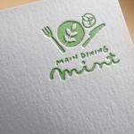 ns_worksさんの新規OPENのダイニングバー「mint」のロゴデザインへの提案