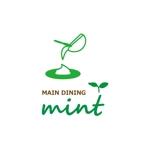 c-k-a-r-d-hさんの新規OPENのダイニングバー「mint」のロゴデザインへの提案