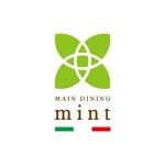 siftさんの新規OPENのダイニングバー「mint」のロゴデザインへの提案