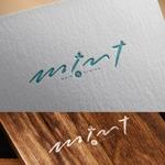 nekosuさんの新規OPENのダイニングバー「mint」のロゴデザインへの提案
