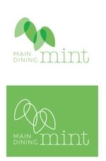 mi_at_workさんの新規OPENのダイニングバー「mint」のロゴデザインへの提案