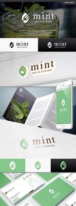 take5-designさんの新規OPENのダイニングバー「mint」のロゴデザインへの提案