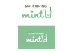 cosaさんの新規OPENのダイニングバー「mint」のロゴデザインへの提案