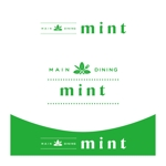 kropsさんの新規OPENのダイニングバー「mint」のロゴデザインへの提案