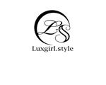 rayray46さんのwebショップ「Luxgirl.style」のロゴへの提案