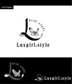moguramusiさんのwebショップ「Luxgirl.style」のロゴへの提案