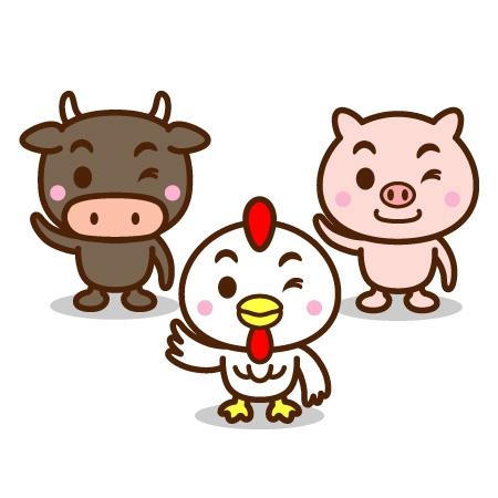 「豚 牛」の画像検索結果