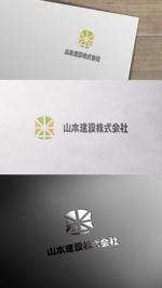 zeross_designさんの1918年(大正7年)創業 静岡県の「山本建設株式会社」のロゴへの提案
