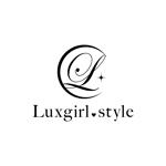 badass_nutsさんのwebショップ「Luxgirl.style」のロゴへの提案