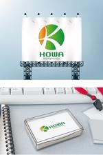 hlc_haseさんの暮らしの総合商社「晃和興産株式会社」のロゴへの提案