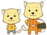 犬のキャラクターのデザインへの提案
