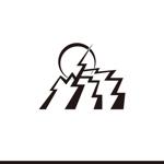 le_cheetahさんの稲妻と月  電気工事を 主に行う会社の シンボルマークを 募集します よろしくお願いいたしますへの提案