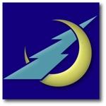 keishi0016さんの稲妻と月  電気工事を 主に行う会社の シンボルマークを 募集します よろしくお願いいたしますへの提案