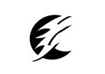 ninaiyaさんの稲妻と月  電気工事を 主に行う会社の シンボルマークを 募集します よろしくお願いいたしますへの提案