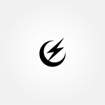 tanaka10さんの稲妻と月  電気工事を 主に行う会社の シンボルマークを 募集します よろしくお願いいたしますへの提案