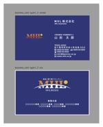 and_corporationさんの「MHL株式会社」の名刺デザインへの提案