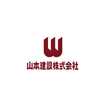 pekoodoさんの1918年(大正7年)創業 静岡県の「山本建設株式会社」のロゴへの提案