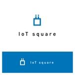 ttttmoさんの次世代に向けたIoT/AI融合事業会社の「株式会社IoTスクエア」のロゴへの提案