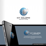 Serkyouさんの次世代に向けたIoT/AI融合事業会社の「株式会社IoTスクエア」のロゴへの提案