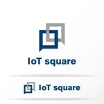 katachidesignさんの次世代に向けたIoT/AI融合事業会社の「株式会社IoTスクエア」のロゴへの提案