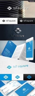 take5-designさんの次世代に向けたIoT/AI融合事業会社の「株式会社IoTスクエア」のロゴへの提案