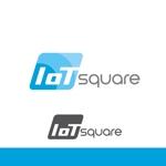 againさんの次世代に向けたIoT/AI融合事業会社の「株式会社IoTスクエア」のロゴへの提案