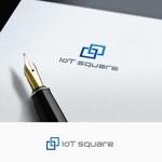 fujiseyooさんの次世代に向けたIoT/AI融合事業会社の「株式会社IoTスクエア」のロゴへの提案