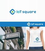Doing1248さんの次世代に向けたIoT/AI融合事業会社の「株式会社IoTスクエア」のロゴへの提案