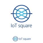 rivers1951さんの次世代に向けたIoT/AI融合事業会社の「株式会社IoTスクエア」のロゴへの提案