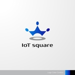 sa_akutsuさんの次世代に向けたIoT/AI融合事業会社の「株式会社IoTスクエア」のロゴへの提案
