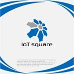 drkigawaさんの次世代に向けたIoT/AI融合事業会社の「株式会社IoTスクエア」のロゴへの提案