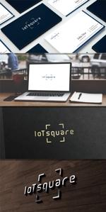 maharo77さんの次世代に向けたIoT/AI融合事業会社の「株式会社IoTスクエア」のロゴへの提案
