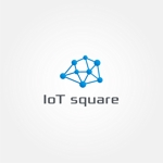 tanaka10さんの次世代に向けたIoT/AI融合事業会社の「株式会社IoTスクエア」のロゴへの提案