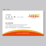 house_1122さんの「MHL株式会社」の名刺デザインへの提案